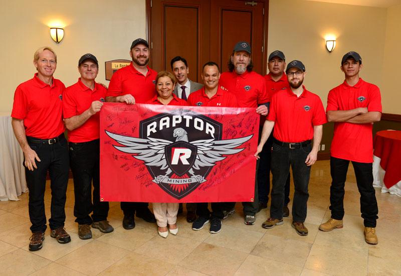 Raptor Mining Team